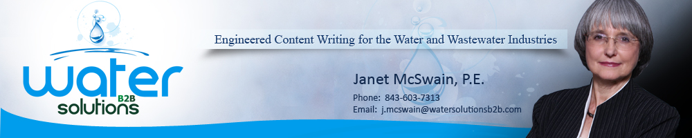 Engineered Content Writing for the Water and Wastewater Industries